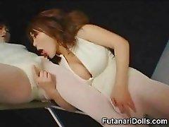 Futanari Ballerina Cums Alot!
