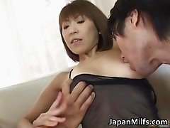 Fine ass slut Jun Kusanagi in gangbang part2