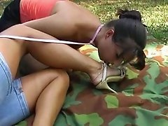 Femdom at the Campsite