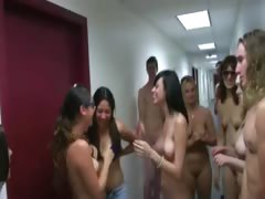College fine students fucking in hall