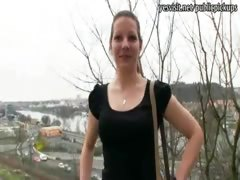 Pretty Czech girl Iveta pounded for 8000