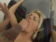 Brutal vaginal fisting of sleek babes