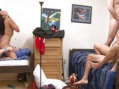 College Dorm Orgy Rules!