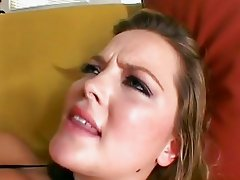 Sex plump Alexis Texas feels the awesome cock boning in her on the couch