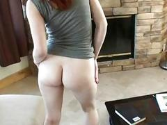 Slutty gf Violet Monroe boned on a couch