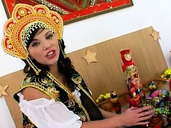 Three russian anal lesbians vibrating