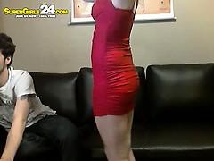 great blonde clarita in punished