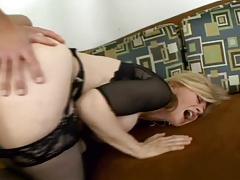 Classic Nina Hartley gets butt fucked