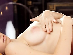 pleasing russian masturbation