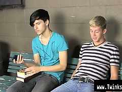 Gay fuck Kayden Daniels and Jae Landen have a ample problem, they emerge