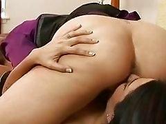 Sexy MILF Julia Ann takes advantage of horny hottie Ann Marie