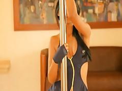 karla spice cop pole dancing