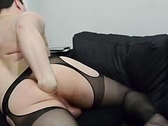 anal self fisting