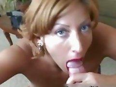 Sara Sloane rides dick in classy Psycho porn parody scene