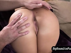 Fetish whore gets rimjob and ass fingering