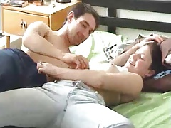Horny couple