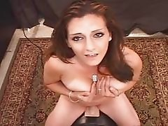 Arabian Slut Pops Her Pussy On Sybian!