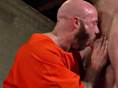 gay prisoner cum drenched