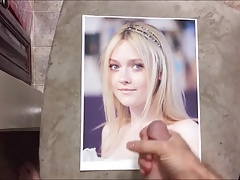 Dakota Fanning Cum Tribute 018