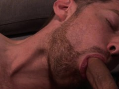 Twink slut cumdrops while pounded w bigcock