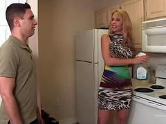 Big Boobs Stepmom Can Easily Seduce Son
