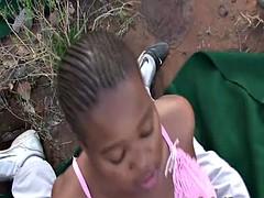 African safari gangbang orgy
