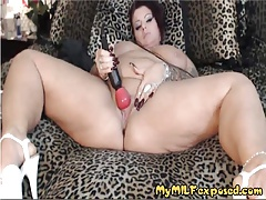 My BBW MILF exposed Sexy tattooed MILF with shaved pussy