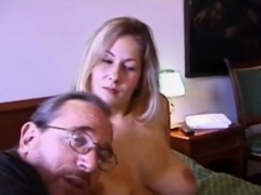 Doggystyle banged vintage amateur loves cock