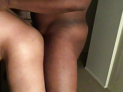 Bottom boy gets drilled late at night by BBC part 1
