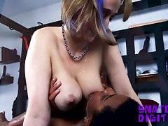 Lactation big tits