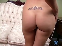 Blonde Nubile In Interview And Then Strips