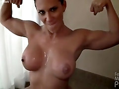 leena offers a pov blowjob turns into a mouthful
