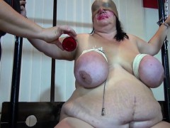 OldNanny BBW granny toying compilation