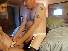 i am fucking my husbands man pussy
