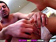 blow me pov -  suck me under the table