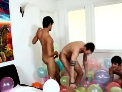 Thickest straight boy dick tubes gay Popping Party
