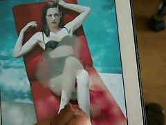Cum on Kristen Stewart - 0417