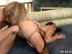 Sandra Romain and Angelica Lane anal party