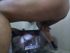 Paja cum-tributo para Daniela con buena acabada final