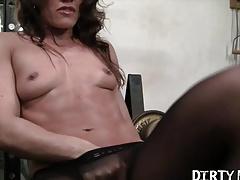 Pornstar Inari Vachs in Pantyhose