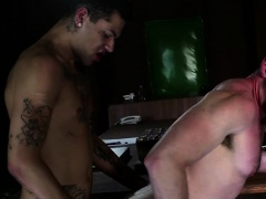 Guys love engulfing one another before enduring anal sex