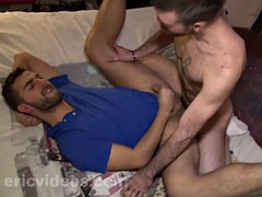 big cock son oral sex and cum eating