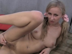 Liliane Tiger wears sucks and masturbates