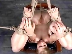 Bound bimbo is eager to get punished even more BDSM