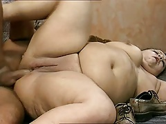 Big butt bbw anal riding