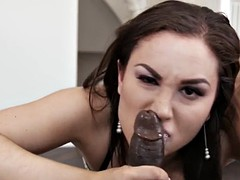 slut gets wam throating