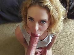 Bonnie Grey pounded hard by his daddy
