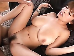 Huge boobs Japanese chick fucked in her juicy cunt