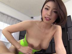 erection bite god body leotard risa kasumi film clip 1