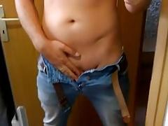 swinging my big dick in the mirror